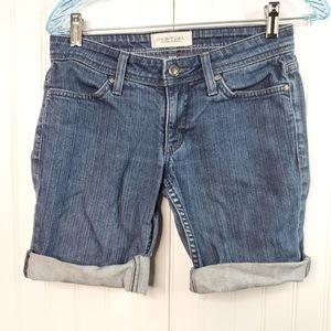 Habitual Blue Denim Cuff Jean Shorts Size 26